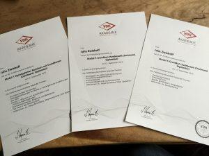 VDH Zertifikate
